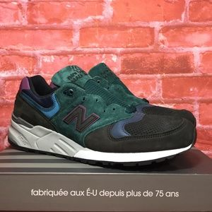 New Balance 999 Made in USA M999JTB Charcoal/Green